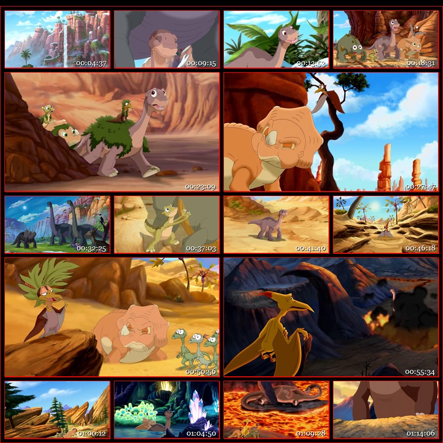 The Land Before Time 2016 English DVDRip 500MB -2