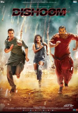 Dishoom (2016) Hindi 480p DesiSCR 450mb