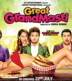 Great Grand Masti (2016) Hindi DVDScr 500MB