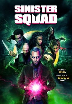 Sinister Squad 2016 English HDRIP 900MB