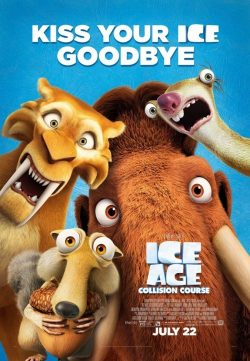Ice Age Collision Course 2016 480p HDTV 450mb