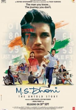 M.S. Dhoni The Untold Story (2016) Hindi Movie DesiSCR Rip 900MB
