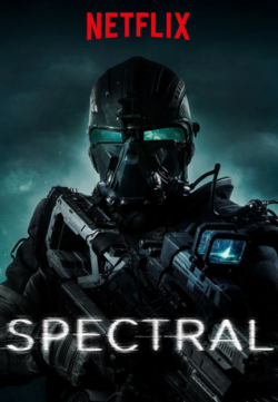 Spectral 2016 English Movie HDRip 720p