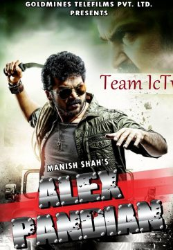 Alex Pandian (2014) Hindi Dubbed WebRip 600MB