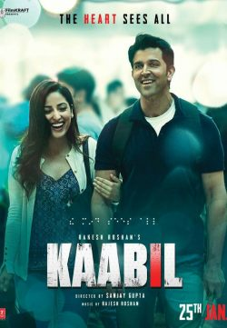 Kaabil (2017) Hindi Movie 720p HDRiP 850MB