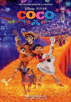 Coco 2017 English 400MB BRRip 720p ESubs HEVC
