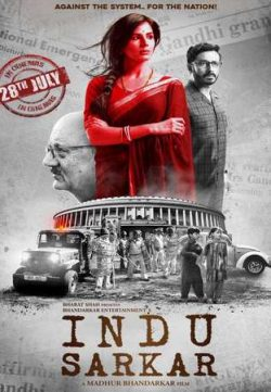 Indu Sarkar 2017 Hindi 280MB HDRip 480p