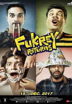 Fukrey Returns 2017 Hindi 550MB DTHRip 720p