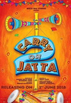 Carry on Jatta 2 2018 Punjabi Pre-DVDRip 600MB