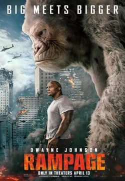 Rampage 2018 Hindi ORG Dual Audio 150MB BluRay HEVC Mobile