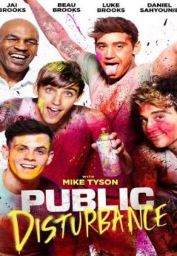 Public Disturbance 2018 English 720p Web-DL 600MB