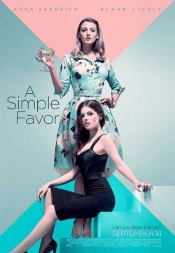 A Simple Favor (2018) English 300MB HDTS-Rip 480p x264