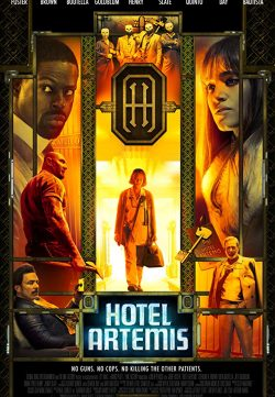 Hotel Artemis (2018) English 300MB BDRip 480p ESubs