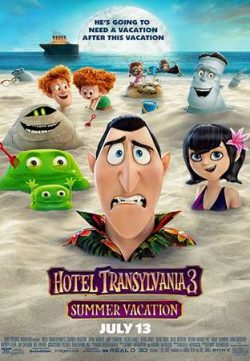 Hotel Transylvania 3 Summer Vacation 2018 Dual Audio 300MB HDRip 480p