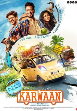 Karwaan (2018) Hindi 720p HDRip x264 950MB