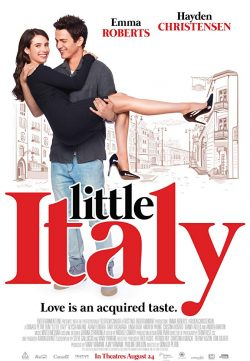 Little Italy (2018) English 720p HDRip x264 800MB
