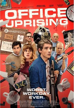 Office Uprising 2018 English 480p WEB-DL 250MB ESubs