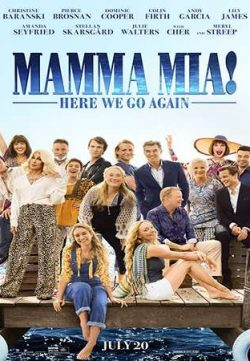 Mamma Mia Here We Go Again 2018 English 350MB HC HDRip 480p
