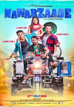Nawabzaade (2018) Hindi 400MB HDRip 720p HEVC