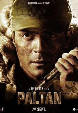 Paltan 2018 Hindi 650MB Pre-DVDRip 950MB