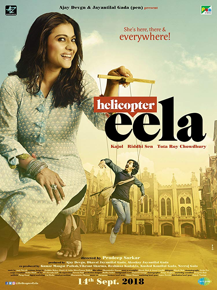 Helicopter Eela (2018) Hindi 300MB Pre-DVDRip 480p