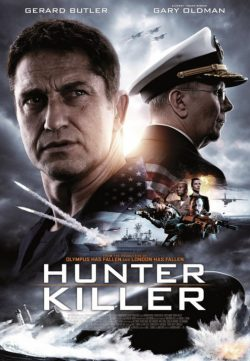 Hunter Killer (2018) English 250MB DVDScr 480p