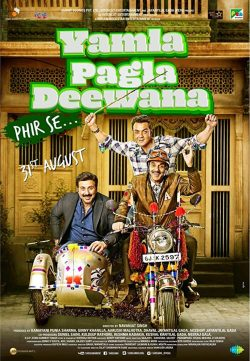Yamla Pagla Deewana Phir Se 2018 Hindi 300MB HDRip 480p x264