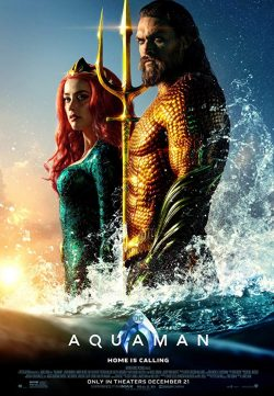 Aquaman (2018) English 350MB DVDScr 480p x264