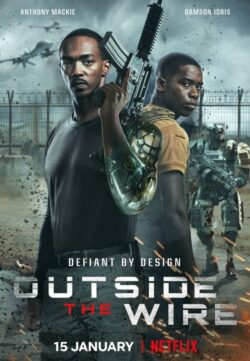 Outside the Wire (2021) Hindi Dual Audio 550MB HDRip 720p Download